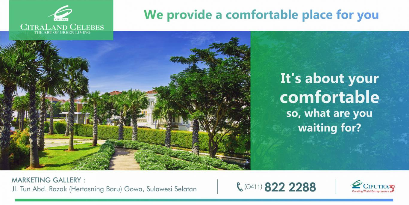 We Provide Comfortable Place For You